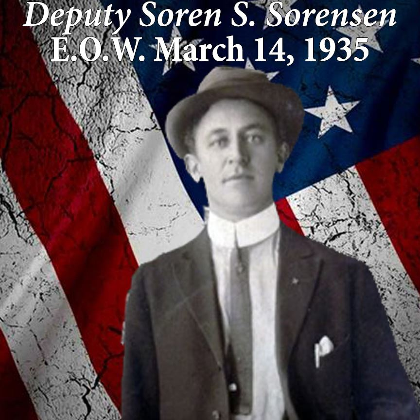 Deputy Soren S. Sorensen, March 14, 1935