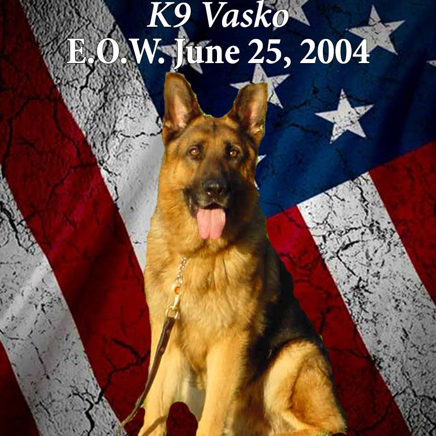 K9 Vasko, End of Watch June 25, 2004