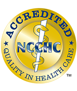 Accredited NCCHC Logo